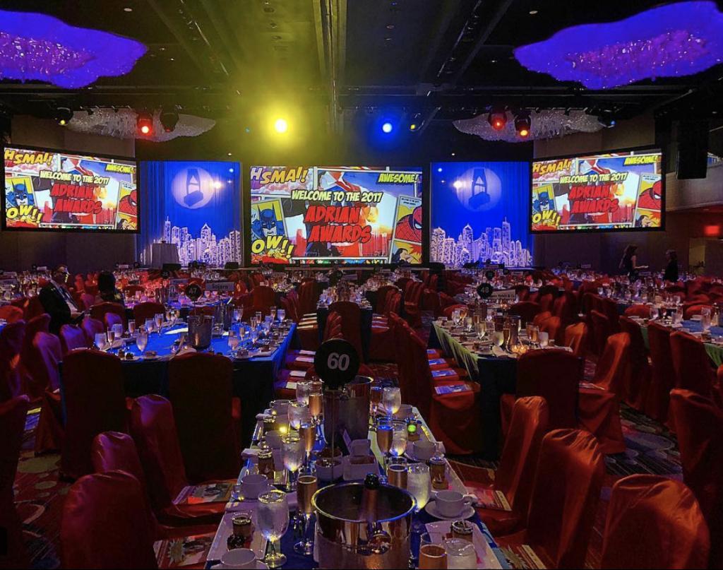 Adrian Awards Gala in 2017